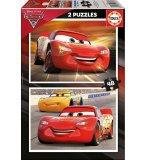 PUZZLE DISNEY - CARS 3 FLASH MCQUEEN ET CRUZ RAMIREZ 2 X 48 PIECES - EDUCA - 17177