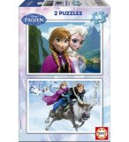 PUZZLE DISNEY DE LA REINE DES NEIGES 2 X 48 PIECES - EDUCA - 15768