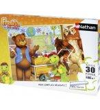 PUZZLE DISNEY - FRANKLIN TRIE SES DECHETS 30 PIECES - NATHAN - 86319