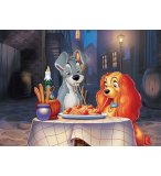 PUZZLE DISNEY - LA BELLE ET LE CLOCHARD 60 PIECES - NATHAN  - 86618