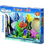 PUZZLE DISNEY LE MONDE DE NEMO - 104 PIECES - POISSON CLOWN - CLEMENTONI - 27883