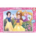 PUZZLE DISNEY : LES PRINCESSES - 100 PIECES - EDUCA - 17167
