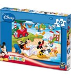 PUZZLE DISNEY MICKEY DONALD ET DINGO A LA PLAGE 50 PIECES - KING - 4736A