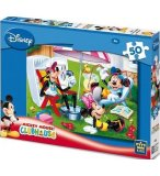 PUZZLE DISNEY MICKEY MINNIE ET DINGO AU JARDIN 50 PIECES - KING - 4736B