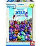 PUZZLE DISNEY MONSTERS UNIVERSITY - MONSTRE & CIE 100 PIECES - EDUCA - 15611
