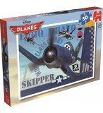 PUZZLE DISNEY PLANES SKIPPER : 50 PIECES - JUMBO - 17365A