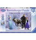PUZZLE DISNEY ROYAUME REINE DES NEIGES XXL - 100 PIECES - RAVENSBURGER - 10516