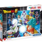 PUZZLE DRAGON BALL Z : KAMEHAMEHA DE SAN GOTEN - PICCOLO - VEGETA 180 PIECES - CLEMENTONI - 29762