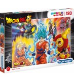 PUZZLE DRAGON BALL Z : SAN GOKU - SAN GOTEN - PICCOLO 180 PIECES - CLEMENTONI - 29761
