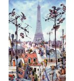 PUZZLE EIFFEL TOWER 1000 PIECES - COLLECTION CARTOON CLASSICS - HEYE - 29358