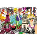 PUZZLE EMMENE MOI A PARIS 500 PIECES - COLLECTION FRANCE - EDUCA - 17650