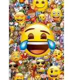 PUZZLE EMOJI 1000 PIECES - COLLECTION SMILEYS - EDUCA - 17108
