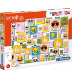 PUZZLE EMOJI - 104 PIECES - COLLECTION SMILEYS - CLEMENTONI - 27285