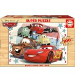 PUZZLE EN BOIS CARS DISNEY 100 PIECES - EDUCA - 16800