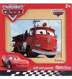 PUZZLE EN BOIS - DISNEY CARS : CAMION POMPIER RED 12 PIECES - EICHHORN - 100003253B