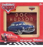 PUZZLE EN BOIS - DISNEY CARS : VOITURE DOC HUDSON 12 PIECES - EICHHORN - 100003253D