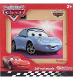 PUZZLE EN BOIS - DISNEY CARS : VOITURE SALLY 12 PIECES - EICHHORN - 100003243F