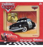 PUZZLE EN BOIS - DISNEY CARS : VOITURE SHERIFF 12 PIECES - EICHHORN - 100003253C