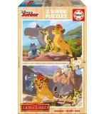 PUZZLE EN BOIS DISNEY - GARDE DU ROI LION : KION ET FULI 2 X 50 PIECES - EDUCA - 16796