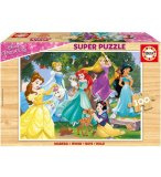 PUZZLE EN BOIS DISNEY LES PRINCESSES 100 PIECES - EDUCA - 17628