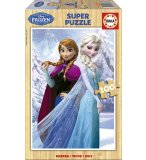 PUZZLE EN BOIS LA REINE DES NEIGES DISNEY 100 PIECES - EDUCA - 16373