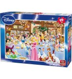 PUZZLE ENFANT DISNEY LES PRINCESSES AU SALON DE THE 99 PIECES - KING - 05178A