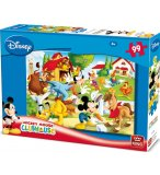 PUZZLE ENFANT DISNEY MICKEY A LA FERME 99 PIECES - KING - 05112B