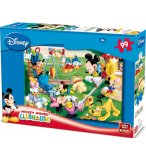 PUZZLE ENFANT DISNEY MICKEY AU PARC 99 PIECES - KING - 05112A