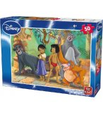 PUZZLE ENFANT DISNEY MOWGLI ET BALOO : LE LIVRE DE LA JUNGLE 50 PIECES - KING - 5316A