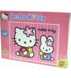 PUZZLE ENFANT HELLO KITTY AVEC SON AMIE CAHTY 99 PIECES - SES