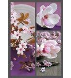 PUZZLE FLEUR - PRINTEMPS JAPONAIS - 1500 PIECES COLLECTION PHOTO D'ART - NATHAN - 87757