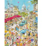PUZZLE FRANCE : PARIS 1000 PIECES - COLLECTION COMIC - KING - 5185