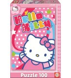 PUZZLE HELLO KITTY 100 PIECES - EDUCA - 14965