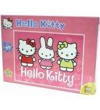 PUZZLE HELLO KITTY AVEC CATHY ET MIMMY 99 PIECES - SES - 050634