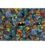 PUZZLE IMPOSSIBLE BATMAN : JOCKER ROBIN BATMOBILE 1000 PIECES - COLLECTION SUPER HEROES DC - CLEMENTONI 39575