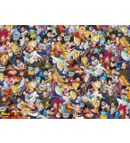 PUZZLE IMPOSSIBLE DRAGON BALL Z 1000 PIECES - COLLECTION MANGA - CLEMENTONI - 39489