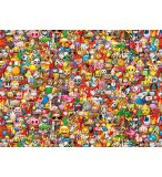 PUZZLE IMPOSSIBLE EMOJI 1000 PIECES - COLLECTION SMILEYS - CLEMENTONI - 39388