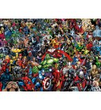 PUZZLE IMPOSSIBLE MARVEL / AVENGERS 1000 PIECES - COLLECTION SUPER HEROES - CLEMENTONI - 39411