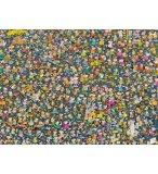 PUZZLE IMPOSSIBLE MORDILLO 1000 PIECES - COLLECTION BANDE DESSINEE - CLEMENTONI - 39550