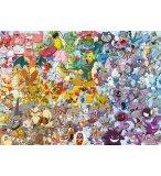 PUZZLE IMPOSSIBLE POKEMON : LE CHALLENGE 1000 PIECES - COLLECTION DESSIN ANIME - RAVENSBURGER - 15166