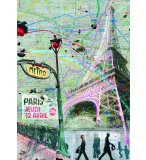 PUZZLE IMPRESSIONS URBAINES - 1500 PIECES COLLECTION ARTISTE - NATHAN - 87766