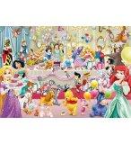 PUZZLE L'ANNIVERSAIRE DES PRINCESSES DISNEY 1000 PIECES - COLLECTION DISNEY - KING - 05261