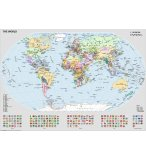 PUZZLE LA CARTE DU MONDE 1000 PIECES - COLLECTION GEOGRAPHIE - RAVENSBURGER - 15652
