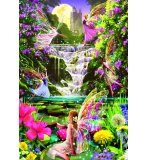 PUZZLE LA CASCADE DES FEES 500 PIECES - COLLECTION UNIVERS IMAGINAIRES - EDUCA - 15515