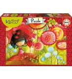 PUZZLE LA JUNGLE DES FLEURS KETTO 200 PIECES - EDUCA - 16813