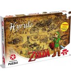 PUZZLE LA LEGENDE DE ZELDA ET LE ROYAUME D'HYRULE 500 PIECES - COLLECTION HEROS - WINNING MOVES - 2949