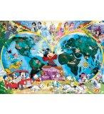 PUZZLE LE MONDE DE DISNEY 1000 PIECES - COLLECTION DISNEY - RAVENSBURGER - 800629