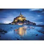 PUZZLE LE MONT SAINT-MICHEL A L'AUBE 1500 PIECES - COLLECTION PARIS - CLEMENTONI - 31994