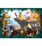 PUZZLE LE ROI LION : SIMBA ET SES AMIS 1000 PIECES - COLLECTION DISNEY - KING - 55830