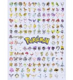 PUZZLE LES 151 PREMIERS POKEMON 500 PIECES - COLLECTION DESSIN ANIME - RAVENSBURGER - 14781